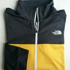Men The North Face Cinder Full-zip Jacket Yellow